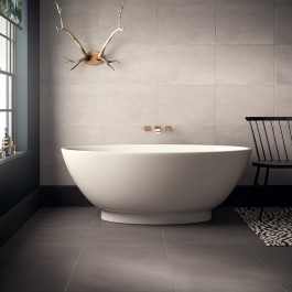 Cemento Light Grey Glazed Porcelain 580x400 - P10295