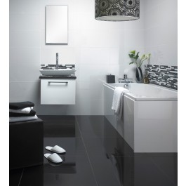 Super Polished Porcelain 600x600 - White 1228