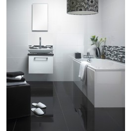 Super Polished Porcelain 600x300 - White 1228A