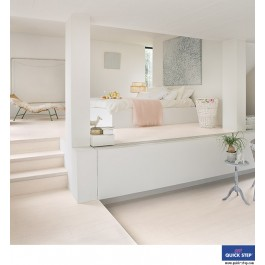 Quick-Step Perspective Wide Laminate Flooring - Morning Oak Light UFW1535