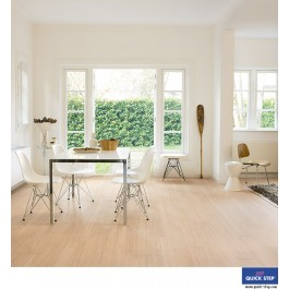 Quick-Step Perspective Wide Laminate Flooring - Oak White Oiled ULW1538