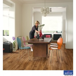 Quick-Step Perspective Wide Laminate Flooring - Reclaimed Chestnut Antique ULW1543