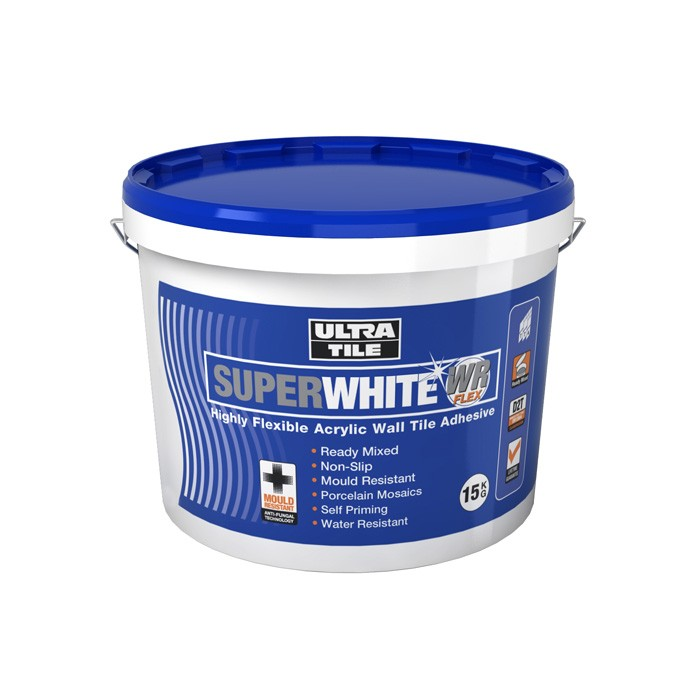 Ultra Ready Mixed Highly Flexible Wall Tile Adhesive 10 Litres