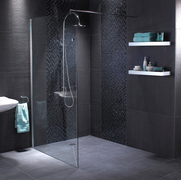 Excellent Black Bathroom Ideas  Terrys Fabrics39s Blog
