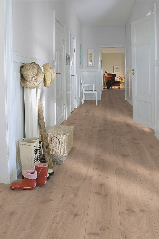 Pergo living expression long plank 4v modern grey oak for Pergo laminate flooring uk
