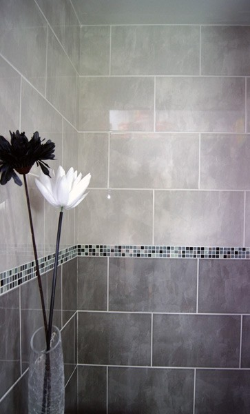 Perfect White Mosaic Bathroom Floor Tile Black And White Bathroom Wall Tile