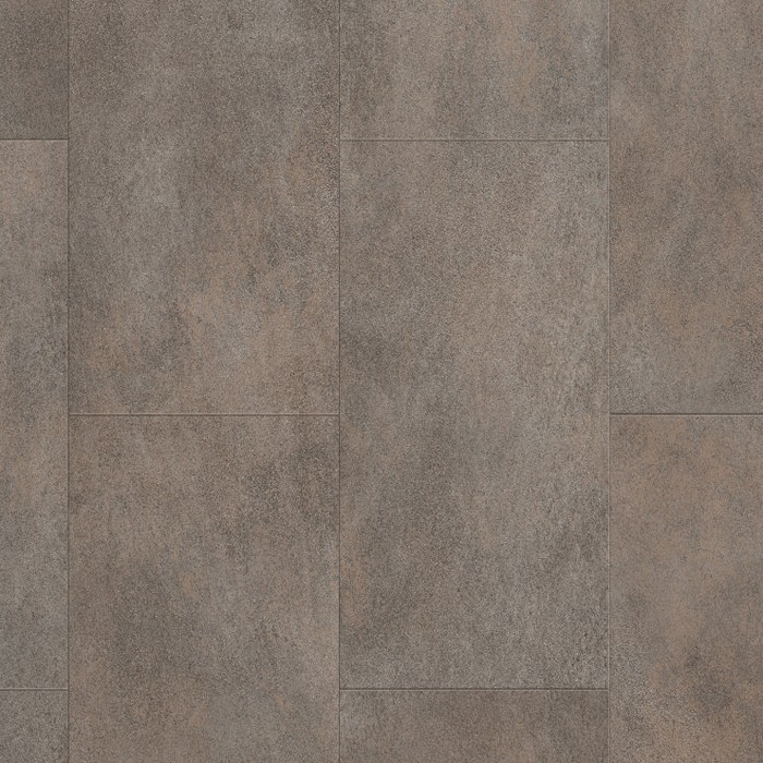 Optimum Click Oxidized Metal Concrete Vinyl Tile Wall