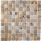 Tumbled Mosaic Tile (23x23mm)