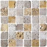 Tumbled Mosaic Tile (48x48mm)