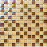Autumn Metallic Lustre Glass Mosaics (23x23mm)