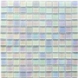 Winter Metallic Lustre Glass Mosaics (23x23mm)