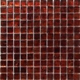 Gold Leaf Metallic Copper Mosaic (23x23mm)