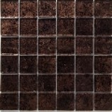 Gold Leaf Metallic Bronze Mosaic (48x48mm)