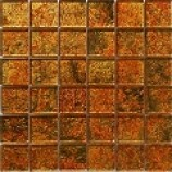 Gold Leaf Metallic Gold Mosaic (48x48mm)