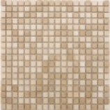 Bahama Polished Beige Mixed Mosaics (15x15mm)