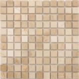 Bahama Polished Beige Mixed Mosaics (25x25mm)