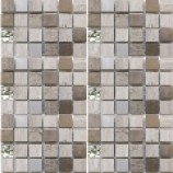 Zamora Stone and Metal Mosaics (23mmx23mm)