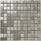 Metal Mosaics Matt Silver (23mmx23mm)