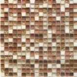 Athens Glass and Stone Copper Mosaics (15mmx15mm)