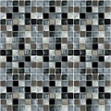 Athens Glass and Stone Silver Mosaics (15mmx15mm)