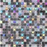Athens Glass and Stone Titanium Mosaics (15mmx15mm)