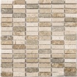 Parma Polished Marble Mosaics Fossil (15mmx48mm)