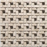 Bologna White and Metal Mosaics (300mmx300mm)