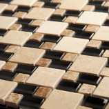 Link Black Double Stacked - Mosaic Sheet 6755