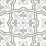 Morales Grey Matt Patterned Ceramic Tile 450x450mm - P11036