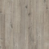 Quick-Step Pulse Click Vinyl - Cotton Oak Grey With Saw Cuts PUCL40106