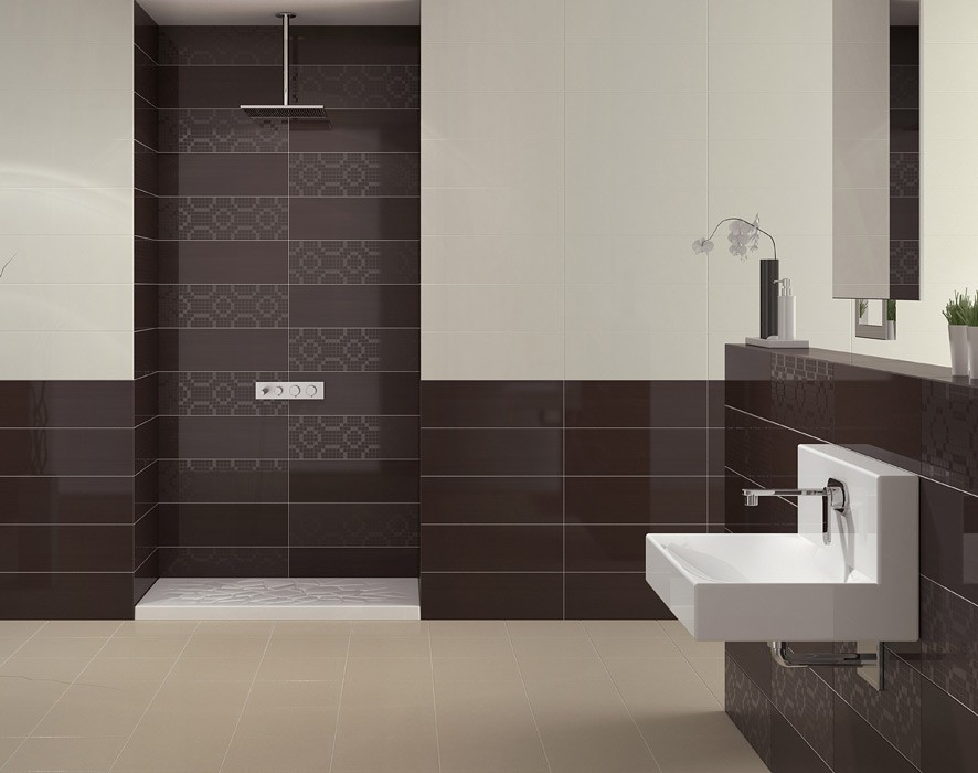 Pamesa mood perla wall tile 600x200mm pamesa mood for Bathroom wall tile designs pictures
