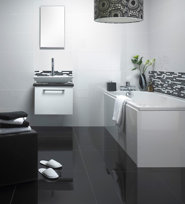 Super Polished Porcelain 600x600 White 1228 Wall